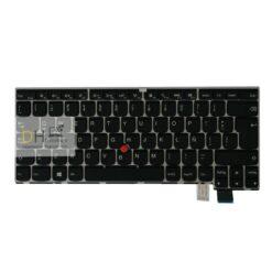 Teclado Para Lenovo T460s T470s 13 G2 Gris En Español